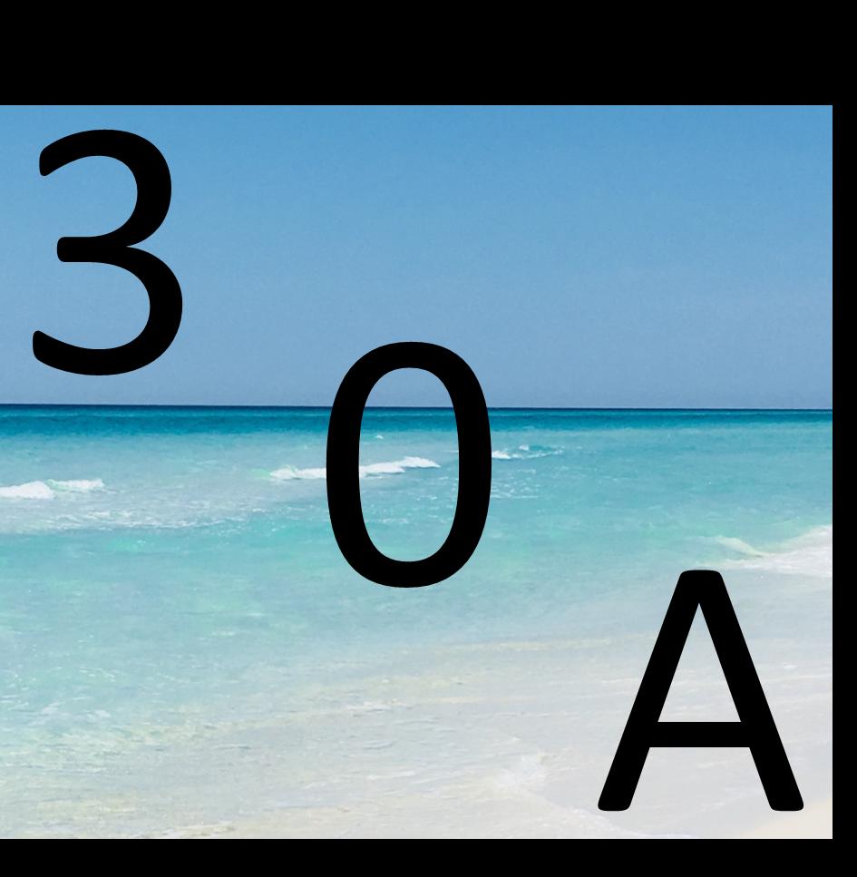 30A Latitudes and Attitudes